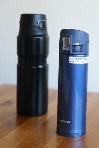 Black Thermos Blue Zojirushi