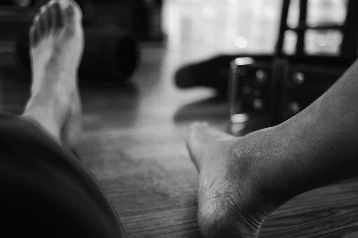 Barefoot Powerlifting