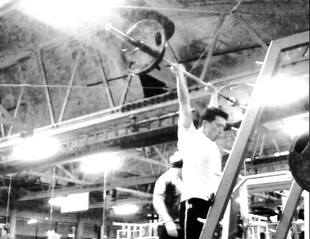 Overhead Press Madcow Training Session One