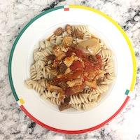 """Boring"" meal: Italian pasta"